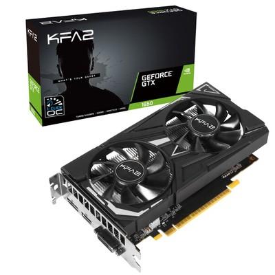 KFA2 GeForce GTX 1650 EX 1-Click OC