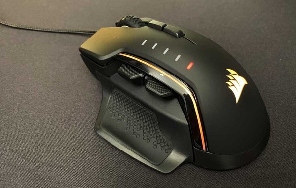 Corsair Glaive RGB Pro and Corsair Ironclaw Mouse