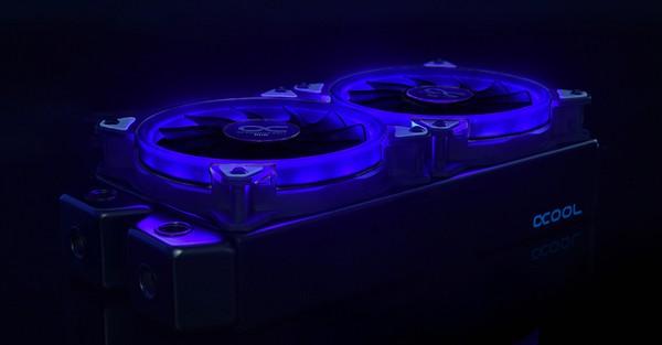 Alphacool Eiszyklon Aurora RGB LT Fan