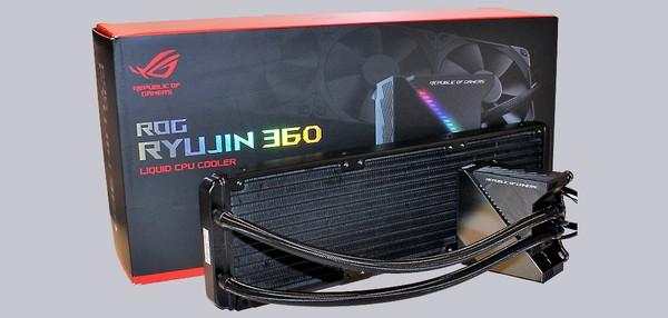 Asus ROG Ryujin 360 OLED AIO