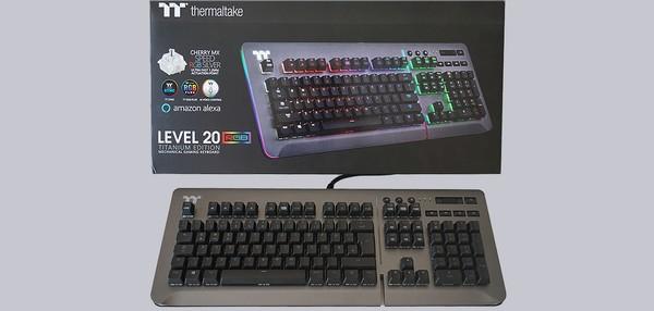 Thermaltake Level 20 RGB Titanium