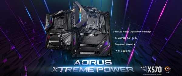 Gigabyte Aorus X570 Mainboard