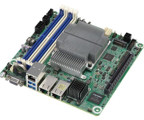 ASRock Rack AMD EPYC Embedded 3000 Series Mini-ITX Motherboard