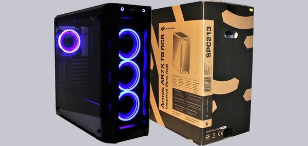 SilentiumPC Armis AR7X TG RGB Case
