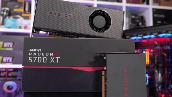 AMD Radeon RX 5700 XT and AMD RX 5700
