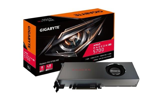 Gigabyte Radeon RX 5700 XT 8G und Radeon RX 5700 8G