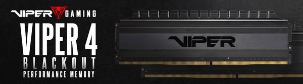 Patriot Viper 4 Blackout DDR4 RAM