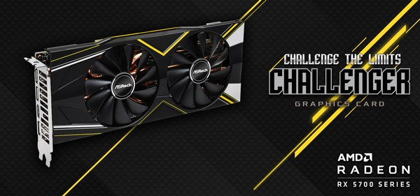 ASRock Radeon RX 5700 Challenger Series Graphics Cards