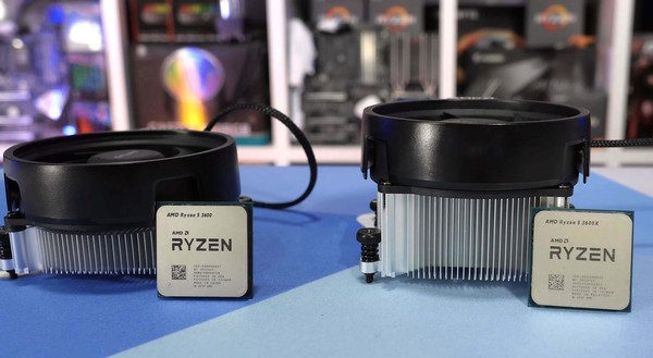 AMD Ryzen 5 3600 vs 3600X