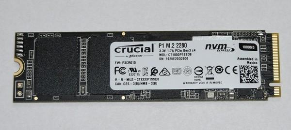 Crucial P1 1TB 2280 SSD