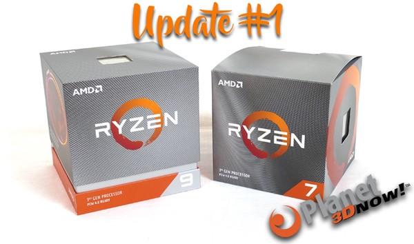 AMD Ryzen 7 3700X und Ryzen 9 3900X Update