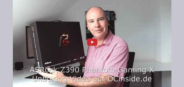 ASRock Z390 Phantom Gaming X Unboxing Video