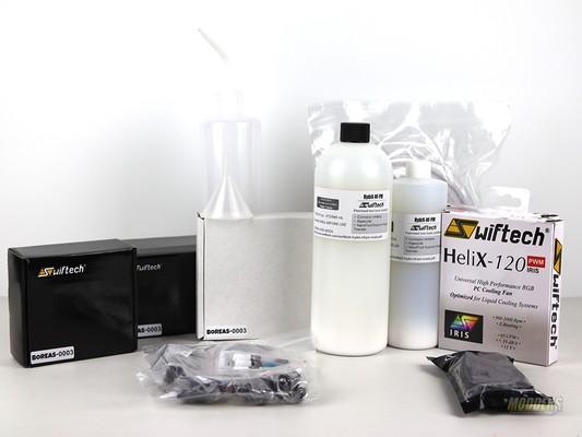 Swiftech Boreas Series DIY CPU Liquid Cooling Kit