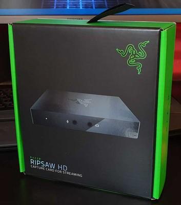 Razer Ripsaw HD Capture Card