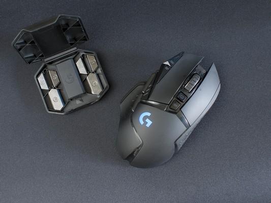 Logitech G502 Lightspeed Maus