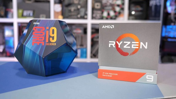 AMD Ryzen 5 3600 vs Ryzen 9 3900X vs Intel Core i9-9900K