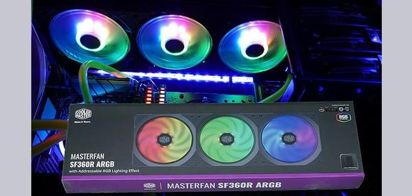 Cooler Master MasterFan SF360R ARGB