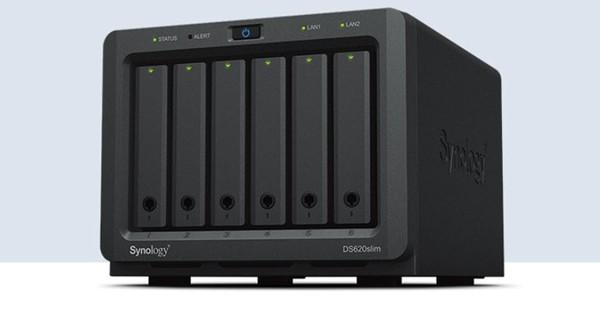 Synology DS620slim 6-bay NAS