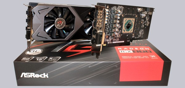 ASRock Phantom Gaming X Radeon RX 590 8G OC Video Card