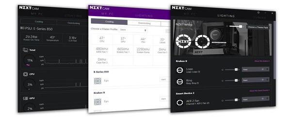 NZXT CAM 40 Software