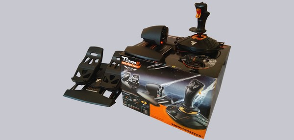 Thrustmaster T16000M FCS Flight Pack