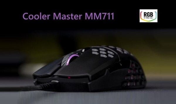 Cooler Master MM711 RGB Gaming Mouse