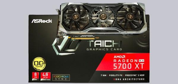 ASRock Radeon RX 5700 XT Taichi X 8G OC Grafikkarten