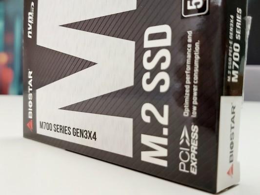 Biostar M700 Series M2 PCI-E Gen3x4 NVMe 512GB SSD