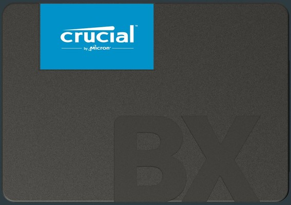 Crucial BX500 960GB 25in SSD