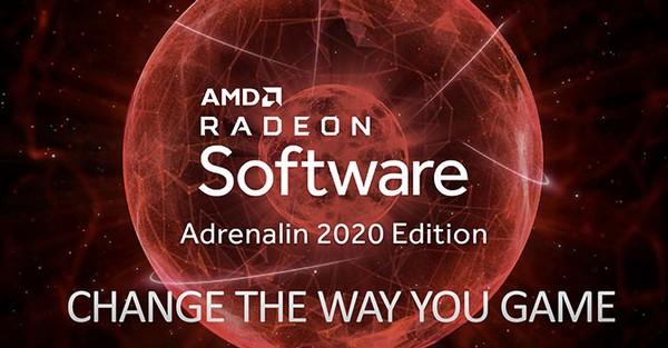 AMD Radeon Software Adrenalin 2020 Update