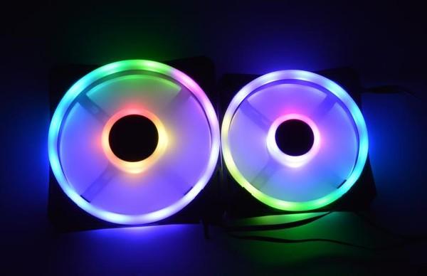 Corsair QL120 and QL140 RGB fans