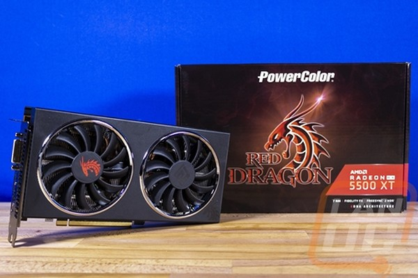 PowerColor RX 5500 XT Red Dragon 8G