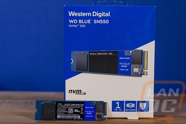 WD SN550 Blue 1TB NVMe SSD