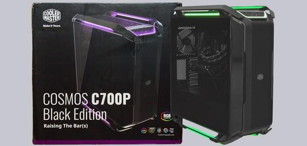 Cooler Master Cosmos C700P Black Edition Case