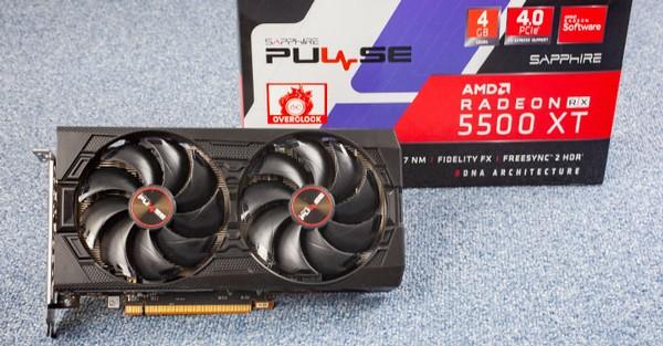 Sapphire Radeon RX 5500 XT Pulse 4GB
