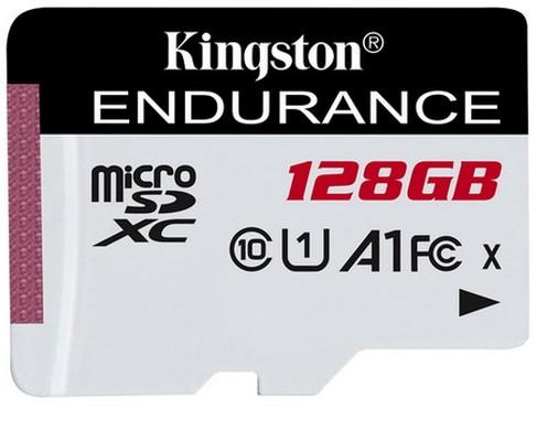 Kingston High Endurance 128GB Micro SDXC Card