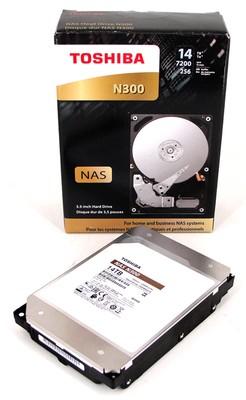 Toshiba N300 und Toshiba X300 14TB HDD