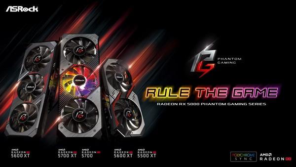 ASRock Radeon RX 5600 XT Phantom Gaming and Challenger
