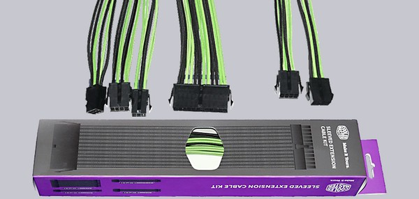 Cooler Master Sleeved PSU Extension Cable Kit