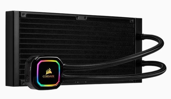 Corsair icue H115i RGB PRO XT Liquid CPU Cooler