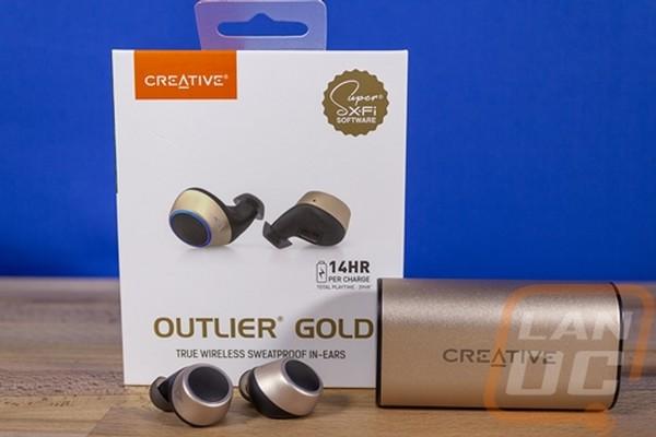 Creative Outlier Gold Wireless In Ears