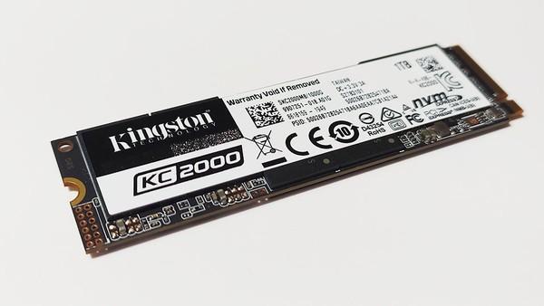 Kingston KC2000 1TB M2 PCIe SSD