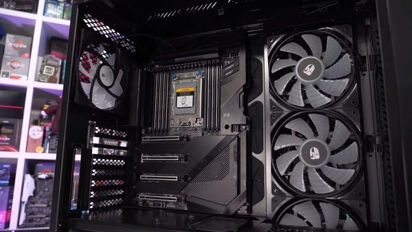 AMD Threadripper 3990X TRX40 VRM Torture