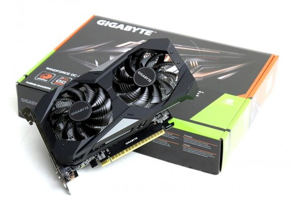 Gigabyte GTX 1650 WindForce OC GDDR6