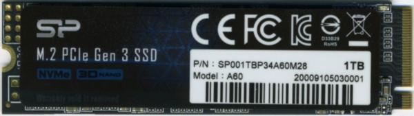 Silicon Power P34A60 1TB M2 PCIe SSD
