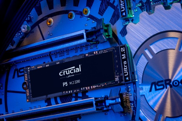 Crucial P5 NVMe SSD und Crucial P2 NVMe SSD