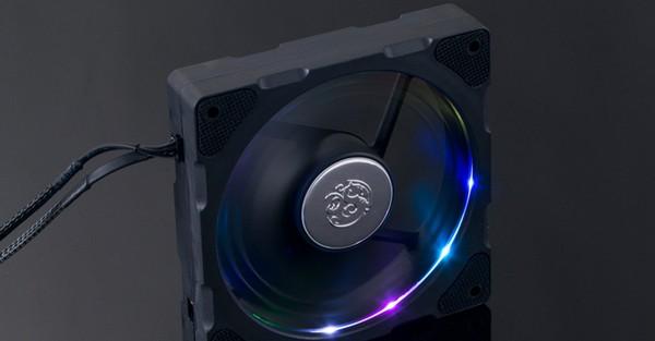 Bitspower Njord Dual Fin drgb Fan