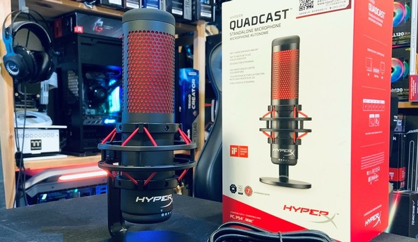 HyperX Quadcast USB Microphone