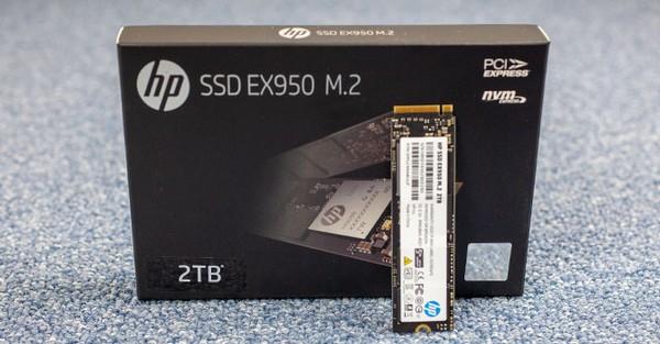 HP EX950 2 TB M2 NVMe SSD