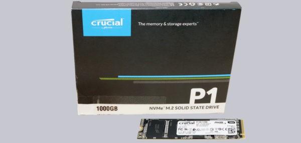 Crucial P1 1TB SSD M2 NVMe